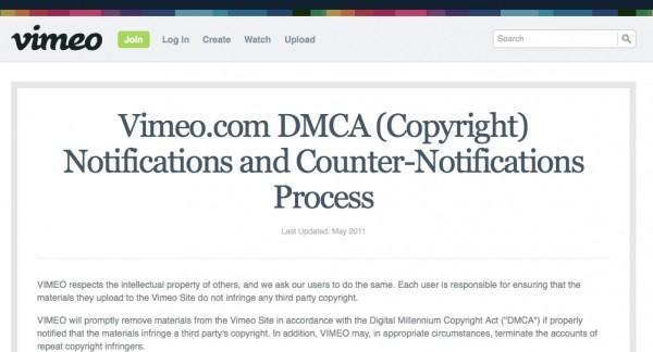 Vimeo Dmca Music Video Takedowns Hitting Their Three Strikes Rule