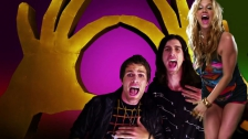 3OH!3 'My First Kiss' music video